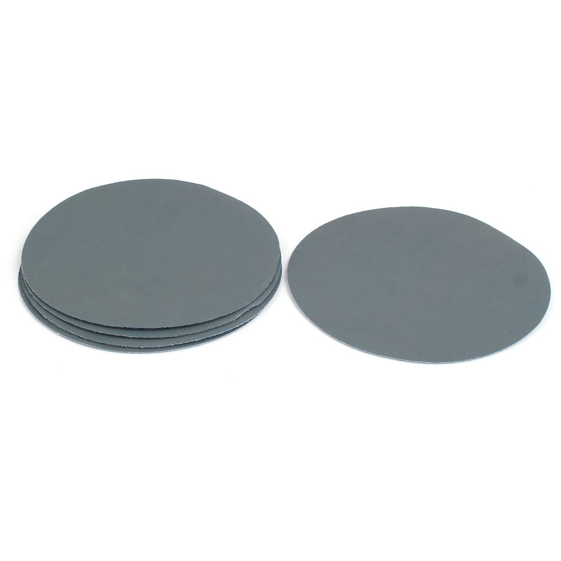 sourcingmap® 3000 Grit 5-inch Diameter Sandpaper Hook Loop Sanding Disc 5 Pcs a17032900ux1046