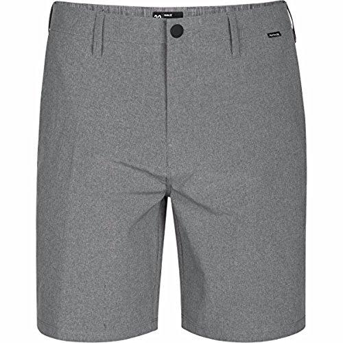 (Hurley Phantom Walkshort Foot Walk Shorts 32 inch Black Heather)
