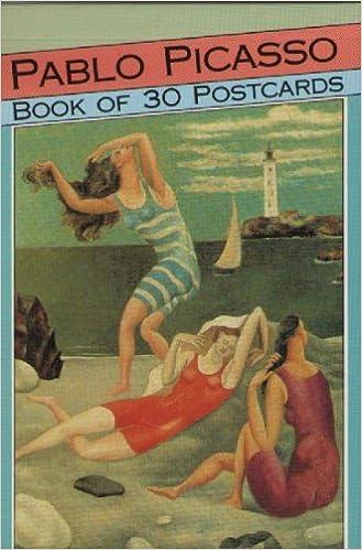 pablo picasso 24 masterpieces postcard book