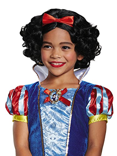 Snow White Wigs (Snow White Deluxe Child Wig, One Size)