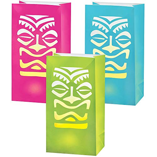 Amscan 172500 Tiki LED Luminaries, Party Supplies, 11