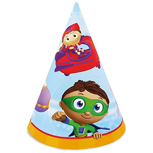 Super Why Party Supplies - Cone Hats (8)