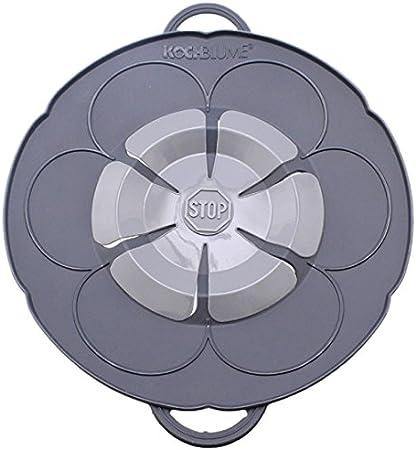 Kochblume Tapa Flor S, Silicona, Negro, 25.5 cm: Amazon.es: Hogar