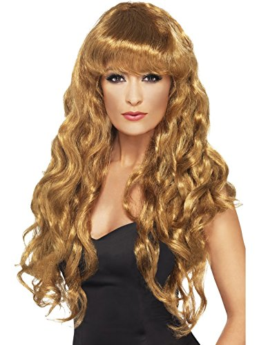 Siren Wig - Price is for 1 pieces (Brown Siren Wig)