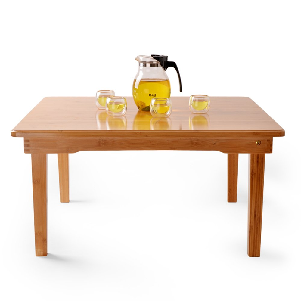 Yuan Tavolini da appoggio Tavolo Quadrato Tavolo simplesso Letto Libro Computer Scrivania Tavolino Tavolo Basso Tavolino Pieghevole da Tavolo, Dimensioni opzionali  & (colore   60  60  27cm)