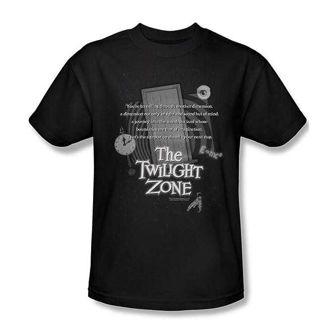Amazon Opening Monologue The Twilight Zone Adult T Shirt