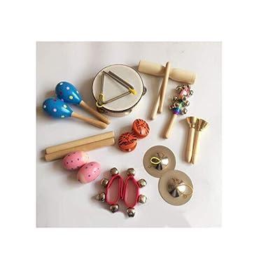 Set de percusión Infantil, Instrumento de educación temprana Musical.@A3: Juguetes y juegos