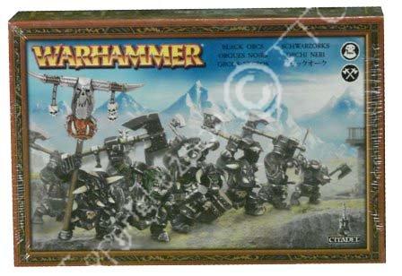 Games Workshop – 99120209015 – Warhammer – Figur – 3369 schwarze