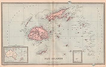 Amazoncom FIJI ISLANDS Viti Levu Vanua Levu Pacific islands
