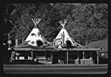 8 x 12 BW Photo of: The Indian Store, Route 19, Cherokee, North Carolina 1979 Roadside America Margolies, John, photographer 40f