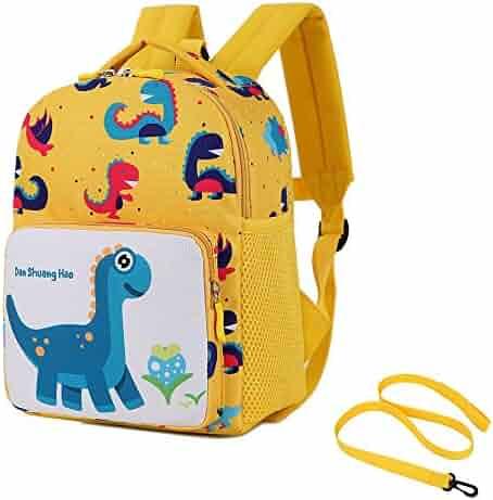 Toddler Kids Dinosaur Backpack with Leash Daypacks Boys Girls Anti Lost 3b1cfd117b3b4