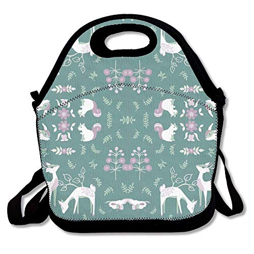 China Animals Fabric 4000(3629) Lunch Tote Bag - Insulated Waterproof Lunch Box For Women, Men & -