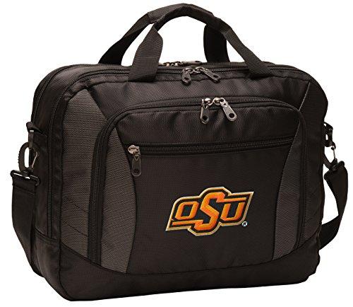 Broad Bay Oklahoma State Laptop Bag Best NCAA OSU Cowboys Computer Bags by Broad Bay