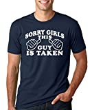 SignatureTshirts Men's Sorry Girls This Guy Is Taken T-shirt XL Navy Blue