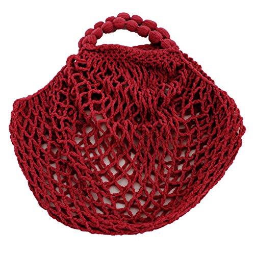 Farben femme Rouge AG pour OLShop verschiedenen in Cabas Fonc 4YzFwWRg