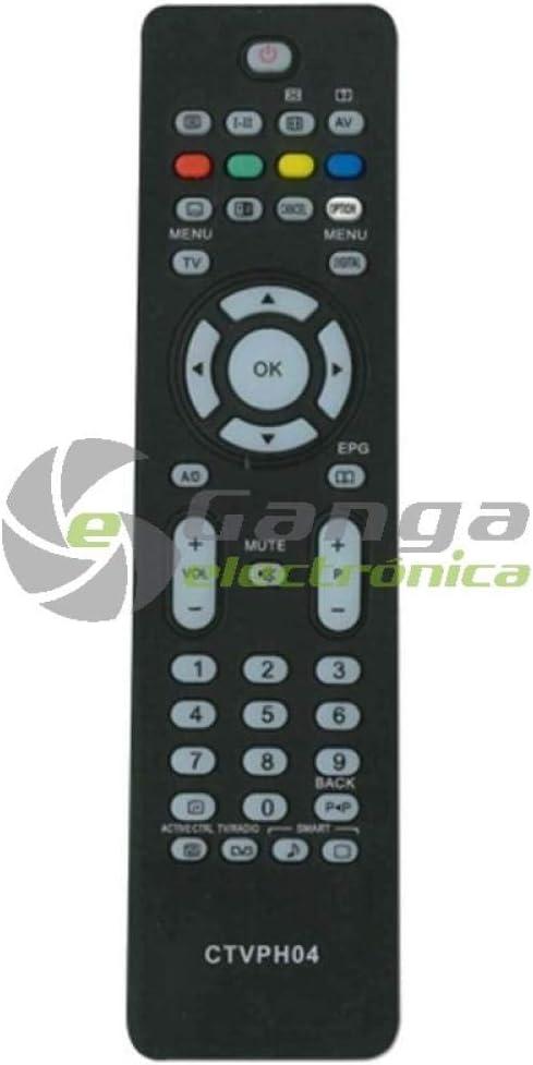 Common TV CTVPH04 - Mando a Distancia Universal (Compatible con ...