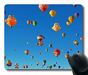 Albuquerque International Balloon Fiesta Special Shapes Mouse Pad Desktop Laptop Mousepads Comfortable Office Mouse Pad Mat Cute Gaming Mouse Pad by mcsharks
