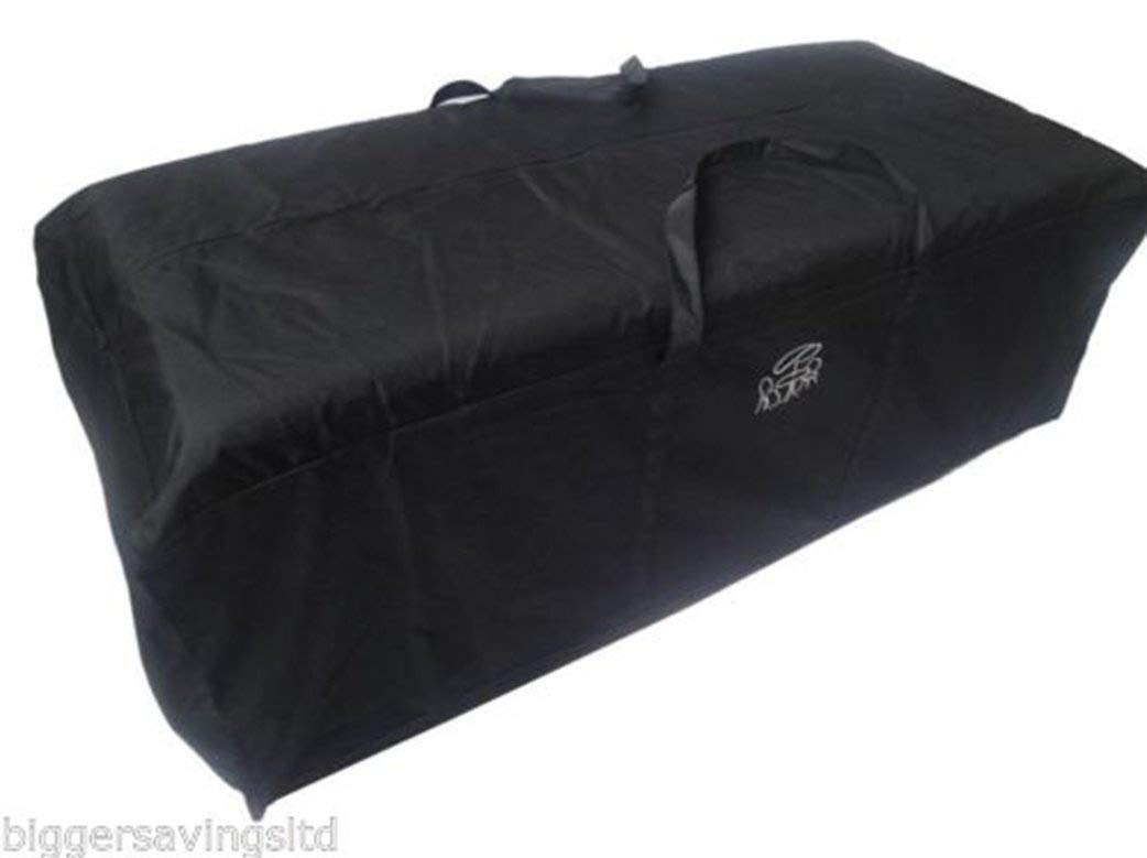 Glencrest Garden Cushion Storage Bag, Black - Large Holdall