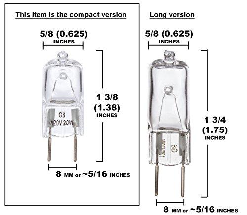 10 Pack Simba Lighting 20 Watt 120 Volt Halogen Light