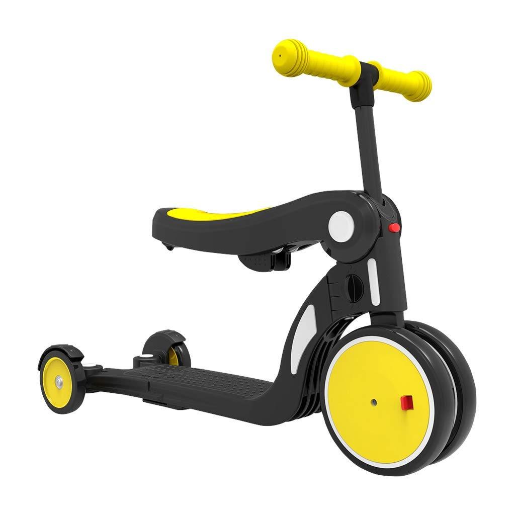 entrega rápida Triciclos Trike Five-in-one Triciclos Para Niños Bicicletas Ligeras Ligeras Ligeras De 1 A 5 Años Scooters Para Niños Scooters Para Bebés Varios Ajustes Juguetes Para Niños Niños Y Niñas 2 Colors ( Color   amarillo )  minoristas en línea