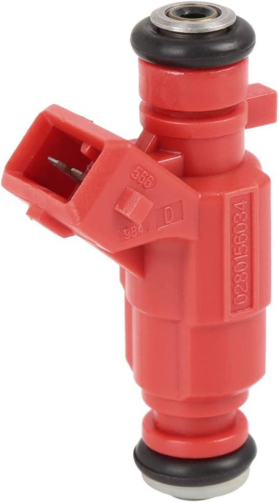 X AUTOHAUX Fuel Injector Nozzle Car Flow Matched 0280156034 Fit for PEUGEOT 307 1.6T53 206