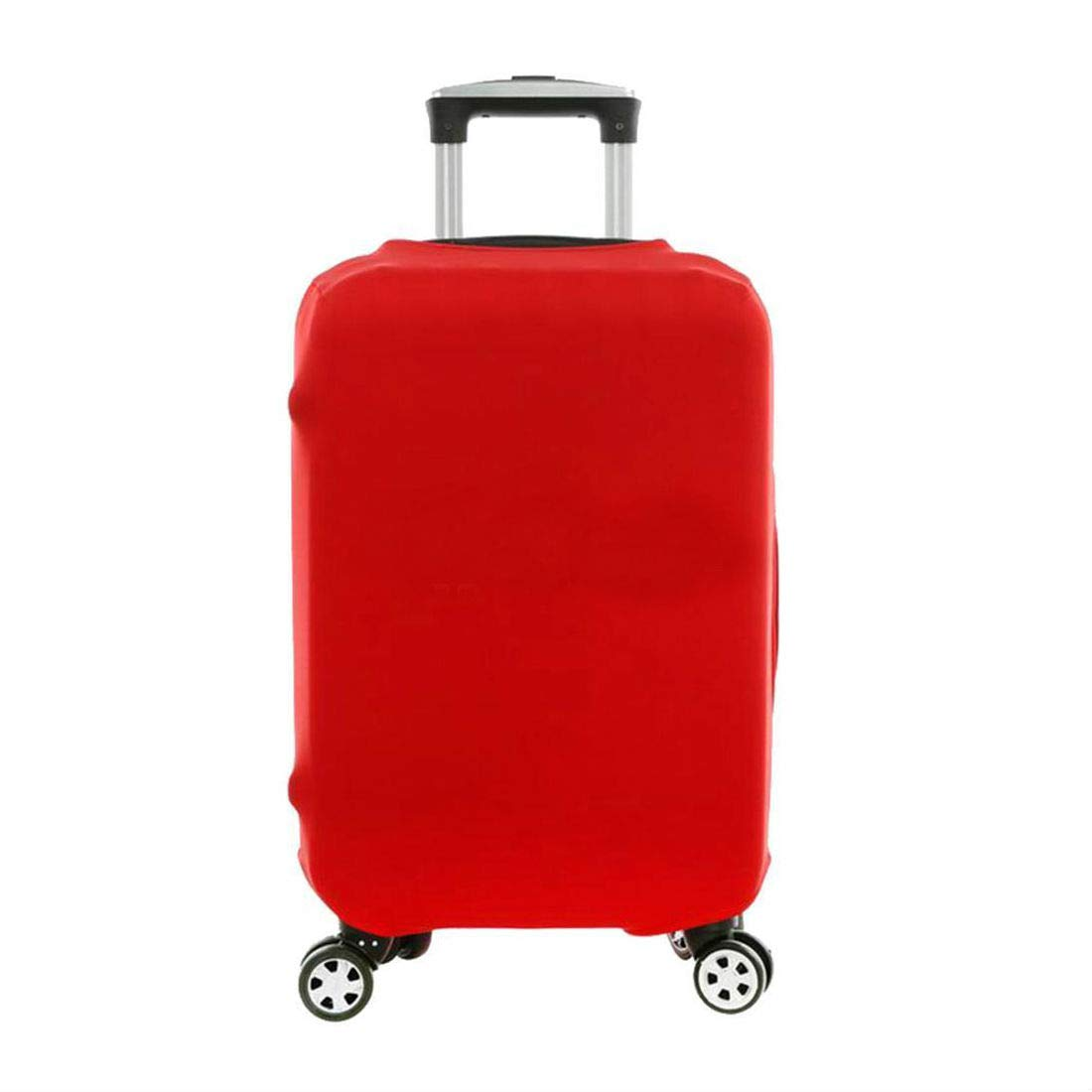 Red Elastic Luggage Suitcase Bags Cover Protector Anti scratch 18'' 20'' 22'' 24'' 28'' (L - (26''-30'')) by Unknown