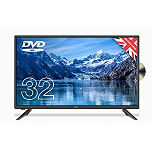 Cello ZF0223 32″ inch HD Ready LED Built in DVD with Freeview HD Made in the UK Black