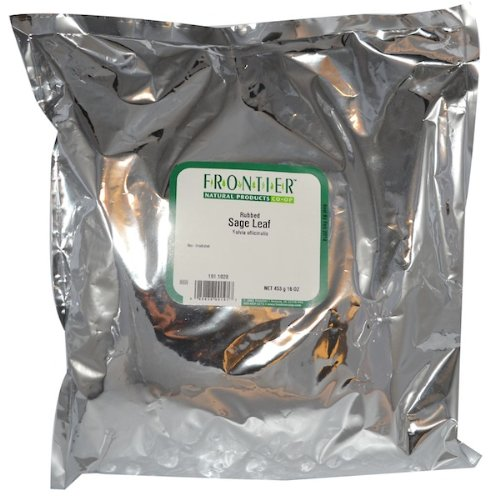 Frontier Natural Products BG13250 Frontier Sage Leaf, Rubbed - 1x1LB
