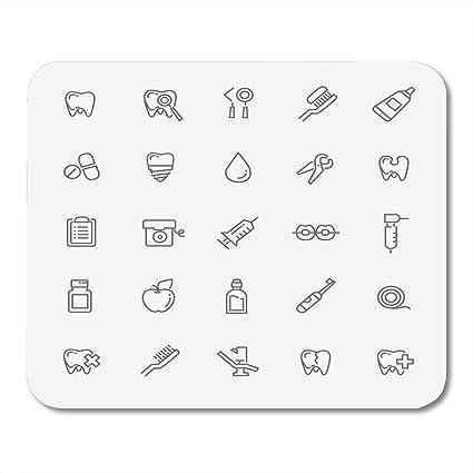 Amazon com : Yanteng Mouse Pads Mouse Pads Dental Dentist of