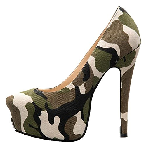 Camouflage Pointed Toe