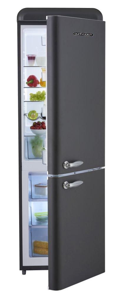 Schneider sl300b Retro Diseño nevera y congelador Combinación ...