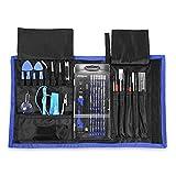 INLIFE 81 en 1 Juego Destornilladores, Kit de Destornillador Completo con Múltiples Funciones, Herramientas de Precisión para Reparar Teléfono, Tableta Reloj etc.