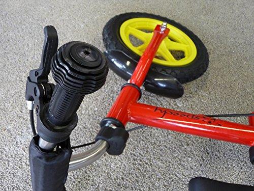 Bicicleta-impulso-para-nios-triciclo-12-Pulgadas-Frenos-rojo