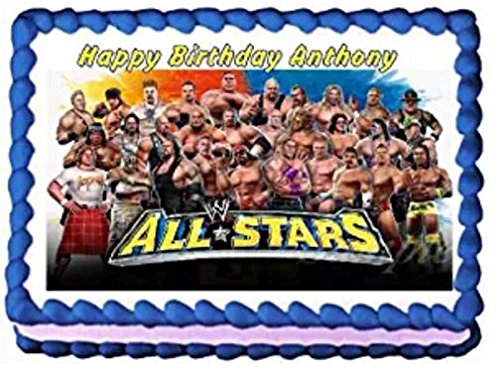 Fine Wwe Cake Toppers Shop Wwe Cake Toppers Online Personalised Birthday Cards Cominlily Jamesorg