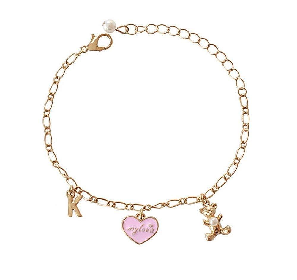 Uhat Bracelet pour filles avec pendentif ourson Uhat®
