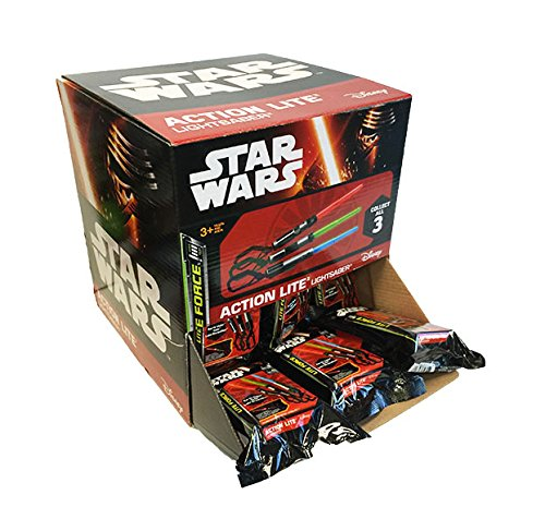 d01941b742 Amazon.com  Star Wars Mini Light Up Lightsaber Mystery Pack Box of 36 Blind  Packs  Toys   Games
