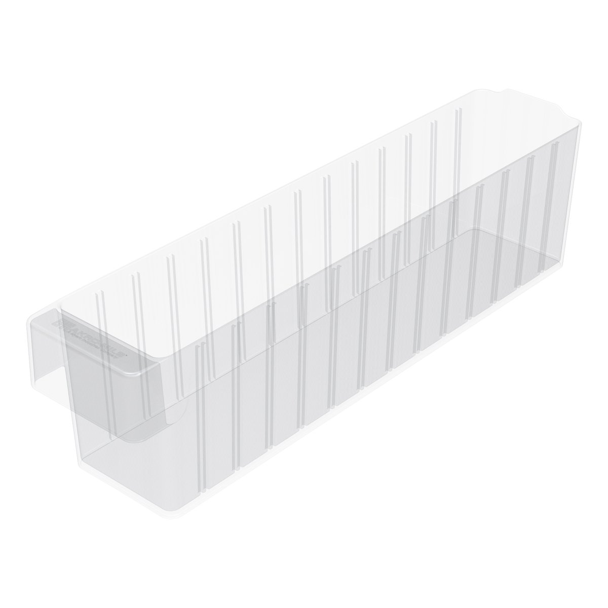 Akro-Mils 31148 17-5/8-Inch L by 3-3/4-Inch W by 4-5/8-Inch H AkroDrawer Plastic Storage Drawer, Crystal Clear, Case of 6