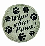 Spoontiques Wipe Your Paws Stepping Stone