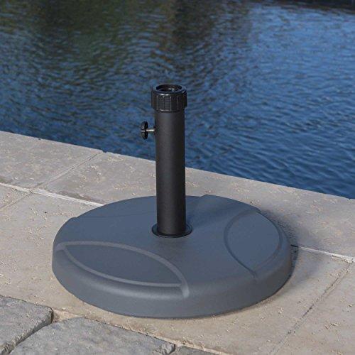 Cheap Norco Round Grey Concrete Umbrella Base