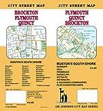 Plymouth / Quincy / Brockton MA Street Map