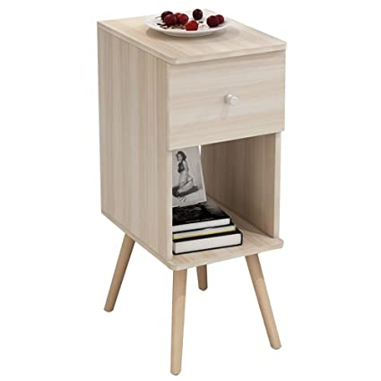 Amazon.com: Tables YNN Sofa Side Cabinet Small Coffee Bed Bedroom ...