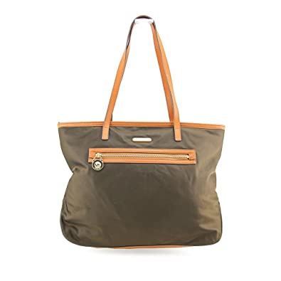 6528f8521d93 Amazon.com: Michael Kors Kempton Large East West Tote in Coffee ...