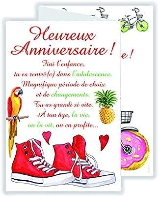 afie 69 - 3913 tarjeta 3 Volets feliz cumpleaños: Amazon.es ...