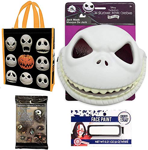 Creep Face NBC Nightmare Pack Jack Skellington Pumpkin for sale  Delivered anywhere in USA