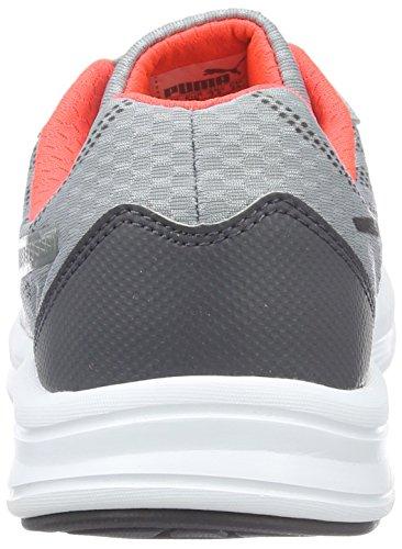Puma Meteor Wn's - Zapatillas de Entrenamiento Mujer Gris - Grau (quarry-puma silver-red blast 02)