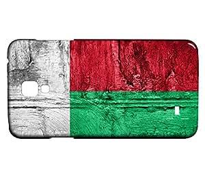 Funda Carcasa para Galaxy S4 Mini Bandera MADAGASCAR 07