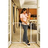 Baby : Regalo Extra Tall WideSpan Baby Gate, Pressure Mount with 2 Includes Extensions Kits