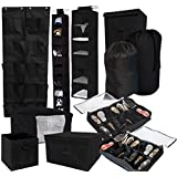 10PC Complete Organization Set - TUSK Storage - Black