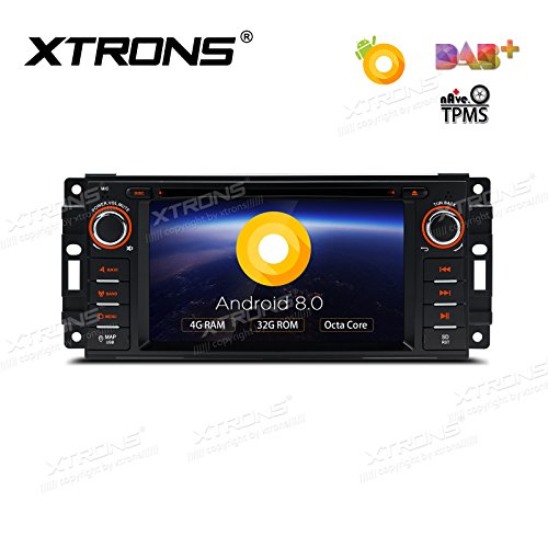XTRONS 6.2 Inch Android 8.0 Octa-Core 4G RAM 32G ROM Capacit