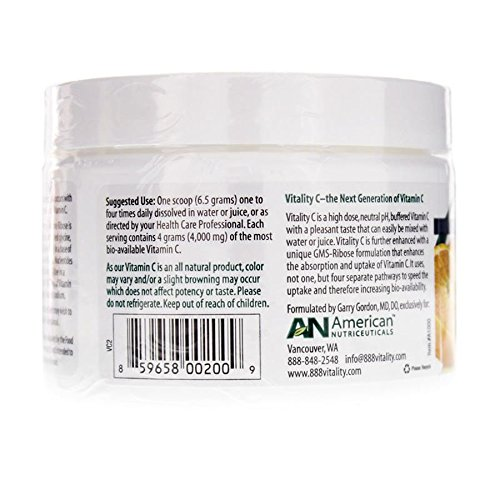 American Nutriceuticals Vitality C 200 g